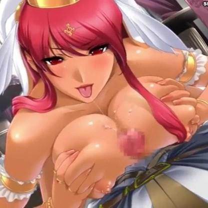 【エロ動画】お妃を決めるために各国の巨乳姫様と夜伽をする!?【姫とボイン】