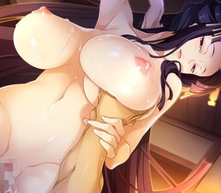 【戦国†恋姫X】ムチムチBODYの熟女の名器オ〇ンコでオ〇ンポしごかれちゃう♪