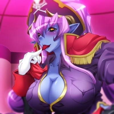 【エロゲ エロアニメ】悪の女幹部 – 青肌の女悪魔に騎乗位逆レイプで搾り取られる!(ルネ)