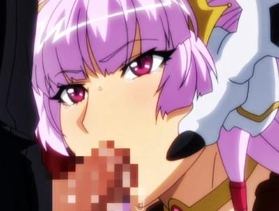 【エロアニメ】命令に逆らえない変態姫様に強制フェラチオ!その後は騎乗位で夜通し生セックス!! (悪の女幹部)