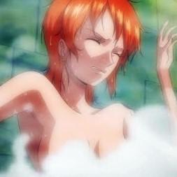 【ワンピース】ナミさんが風呂場で透明人間に犯される!