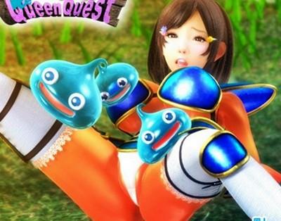 【3DCGアニメ】スライムに負けるクソザコ女勇者wwwスライムに触手で犯されちゃいます!