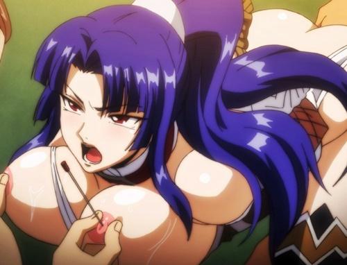 【エロアニメ】無能対魔忍がまたもや敵の手にwww媚薬でトロトロにされ二穴輪姦レイプでマジイキ!