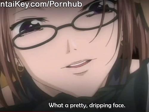【エロアニメ】メガネ美人のお姉さんに脅されて、好きな娘が他の男に犯されているのを見せられる!?