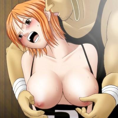 【ワンピース】ナミとロビンが時間停止ビームでイキ狂う!乳首、オ〇ンコを限界までいじめ抜かれ、かつてないエクスタシーに突入する…!