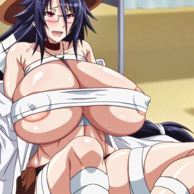 【カガクなヤツら OVA】超乳ムチムチ女子校生とレズエロ保険医が化物たちに異種姦触手レイプされて体液搾取されてイキまくり♪
