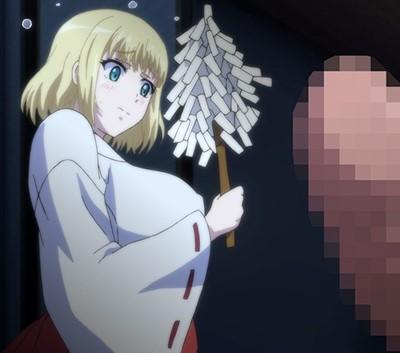 【人妻・寝取り】ロシア人妻に巫女服着せて、スケスケ白装束でシコシコ除霊!