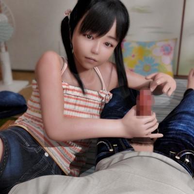 男の部屋で無防備すぎるパンチラ・胸チラをする近所の少女!我慢出来ずに手を出した結果…!?