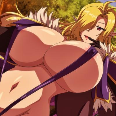 『OVA ようこそ! スケベエルフの森へ #2』ダークエルフの戦士も媚薬漬けにしたらニンゲンのチ○ポであっさり陥落!