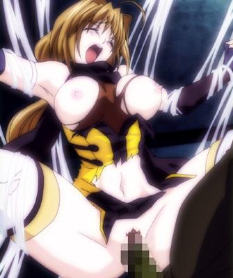 【超昂閃忍ハルカ】エッチして強くなった女忍者!だけどやっぱり異形の化物に犯されてしまうのでした…。