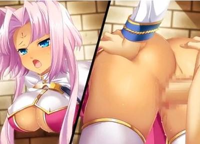 【恋姫†無双】褐色巨乳娘が壁穴にハマって動けない!?無防備なお尻にムラムラしたアナタは…..!(壁尻)