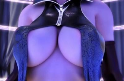 【女悪魔】魔導書で召喚されたサキュバスの前には、全裸で勃起した男が!?