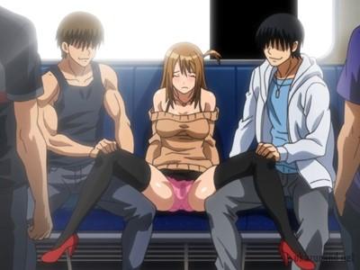 「は~い、御開帳www」男を舐めてたクソ生意気な女子校生を電車の中で公開レイプしたったwww