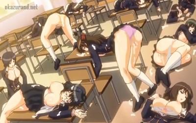 【学園で時間よ止まれ プールを満たす白濁液。 スクール水着は浮かばない編】最強のエロ超能力を手に入れた男は名門女学園の女生徒たちを全員レ〇プ!!