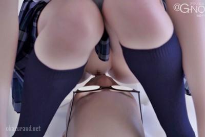 【3DCG】大人のオモチャを膣に入れたら取れなくなった!?【家の前を毎朝通るJK宅にエッチなおもちゃを送ってみたら・・・】