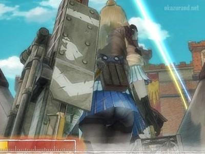 【戦場のヴァルキュリア4】パンスト越しのパンツっていいよね…..!