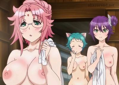 【乳首解禁】変化の術でボディーソープになって女風呂に潜入した結果…!?(ゆらぎ荘の幽奈さん)