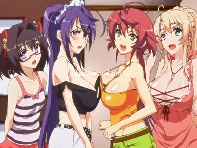【ハーレム・近親相姦】4人の姉が弟のチンポをめぐって搾精バトル!!(ばくあね)