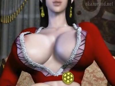 【ワンピース3D】あの最強の女海賊も能力封じられて、チンポハメられればただの雌www