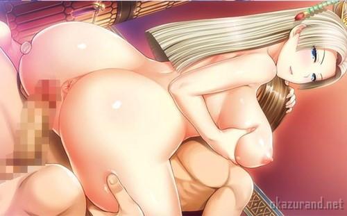 【ドラゴンアカデミー3】ニマ大師の密着ぱふぱふと桃尻騎乗位であっさり射精させられる♪(体験版Hシーン)