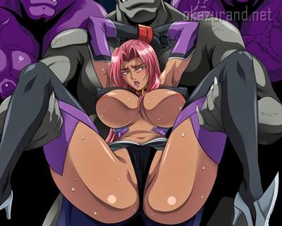 【異種姦・輪姦】人気ゲーム「対魔忍」シリーズのスピンオフ作品!プライドの高い女騎士が性欲満点の化物共に凌辱される!