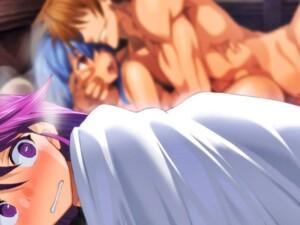 【ランス03】女の子が寝ている隣に突然ランスが夜這いにやって来ておっぱじめるwww