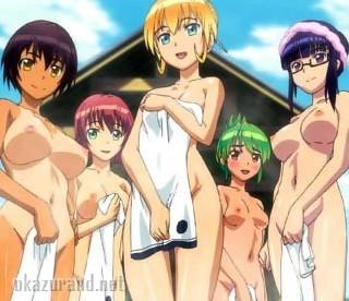 【ふたなり・レズ】ここは白濁温泉?いいえ、ザーメン風呂ですwwwフタナリ娘たちが露天風呂でおっぱじめて……!?