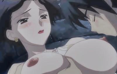 【スクールデイズ】伊藤誠が彼女の母親に手を出した!野外で青姦生ハメで危険日なのに中出し!