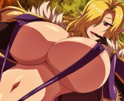 OVA ようこそ! スケベエルフの森へ #2 爆乳 エルフ 逆レイプ ハーレム