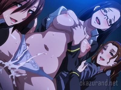 名門学園のお嬢様たちがザーメン求めて、男性教師を逆レイプ!(冥刻學園)