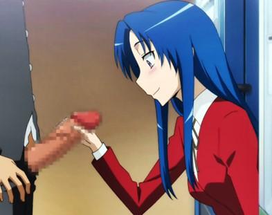 【とらドラ!】川嶋亜美ちゃんが欲求不満!?校内で男子を誘惑して生ハメしちゃう♪