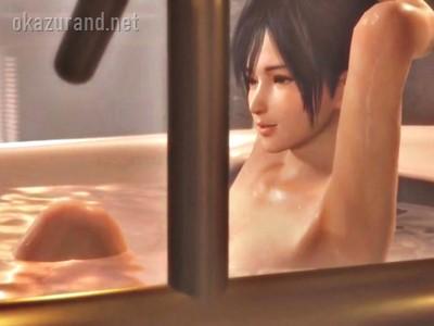 シャワー中の一糸まとわぬ美少女を覗き見!SSRお風呂シーン総集編【DOAX VV】