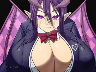【エロRPG】クールな女悪魔のむっちりオッパイで搾られる!(夢魔の街コルネリカ)