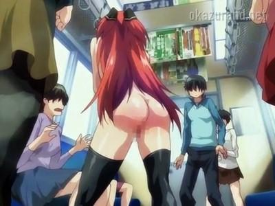 日本ヤバい!超少子化になって貴重な男の命令は絶対!?女の子に電車内で露出セックスなんてのもOKです!