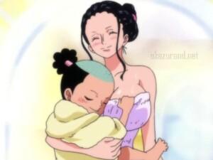 【ワンピース】ナミとロビンのセクシーお風呂シーン