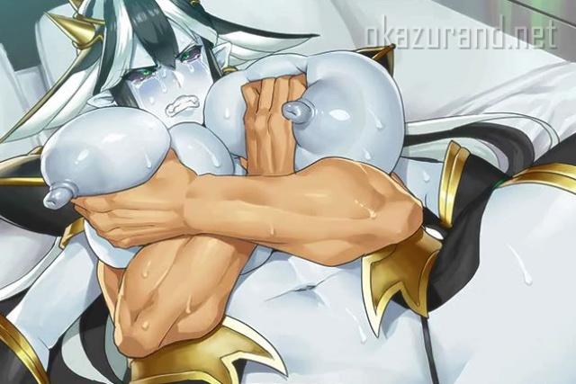 【対魔忍オンライン】プライドの高い青肌の女悪魔がキメセクで感じすぎて号泣アクメで完全屈服!