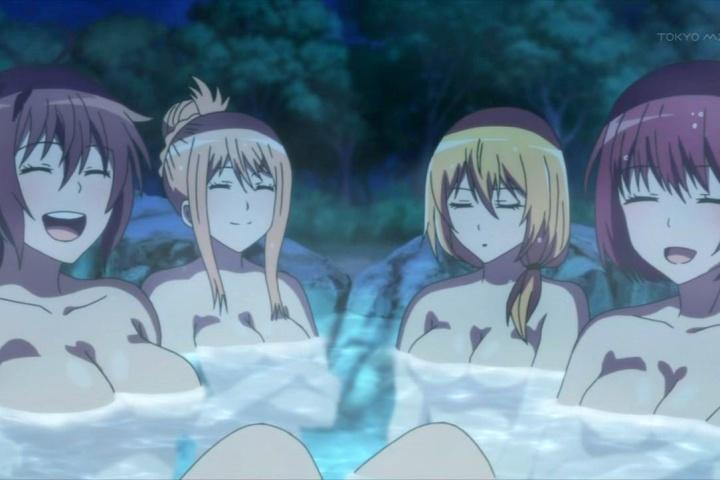 【ソウナンですか? 第8話】無人島で温泉見つけて全裸ではしゃぐJKたちが眼福です♪