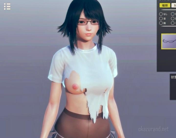 【新作】イリュージョン最新作《AI*少女》のキャラメイクで美少女つくる!