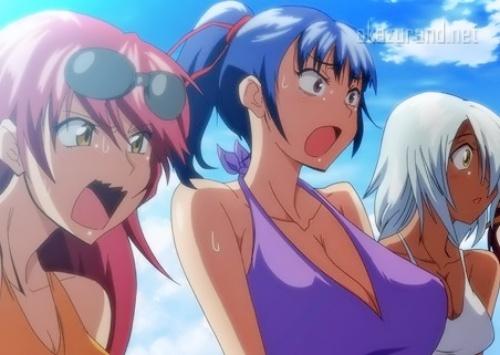 女学院の女子ラクロス部員たちと真夏の海に合宿へ行って汗だくドスケベSEX!