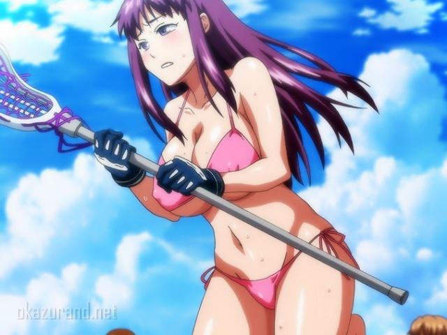 【新作・第2話】女子校ラクロス部の夏合宿!ビーチでビキニになって特訓とか恥ずかしすぎる///