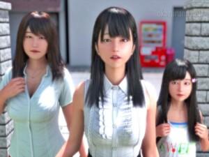 【新作3D】ニートと天使とえっちな家族(にじいろばんび)