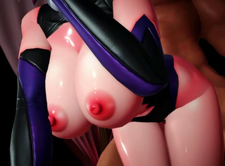 【FGO MMD】めっちゃヌルテカ巨乳ボディのマシュが付かれまくるだけ《Fate/Grand Order》