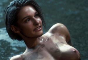 【バイオハザード RE:3】ジルが真っ裸でネメシス最終形態とバトルした結果…!?(ヌードMOD)