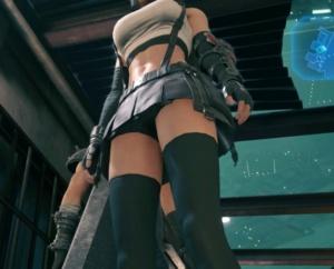 【FF7 リメイク】ティファやエアリスのスカートを覗いた結果……。