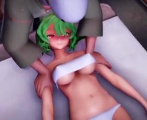 【東方MMD】幽香さんがおっぱいをエロマッサージされて絶頂する動画
