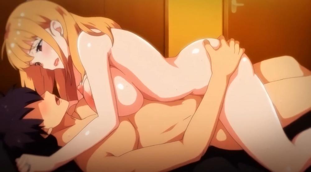 OVA 義姉はヤンママ授乳中 #1 エロアニメキャプチャー 40