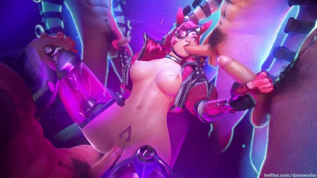 Apex Legends - ワットソンとレイスのエロアニメまとめ 3DCG 01