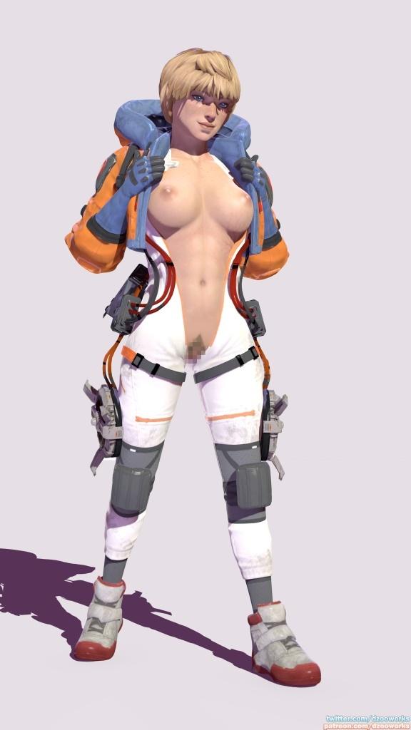 Apex Legends - ワットソンとレイスのエロアニメまとめ 3DCG 09