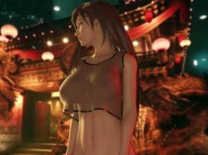 【FF7リメイク】ティファとエアリスが乳と尻を揺らす3Dアニメ