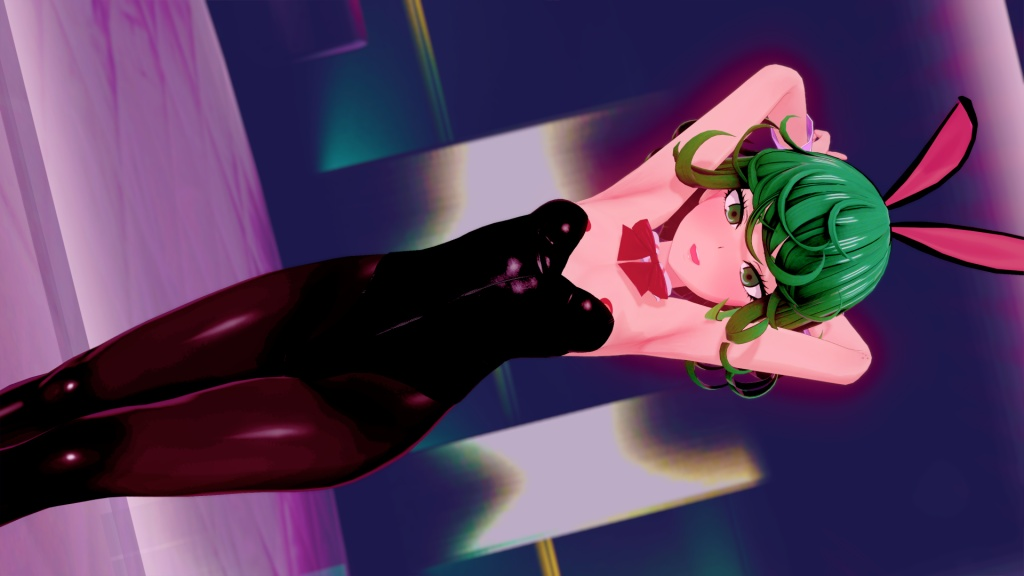 ワンパンマン 戦慄のタツマキ 配布 3D画像 10